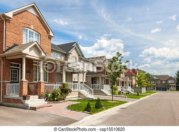 Suburban homes - csp15510620
