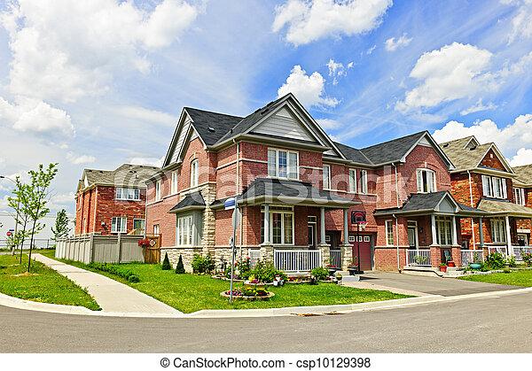 Suburban homes - csp10129398