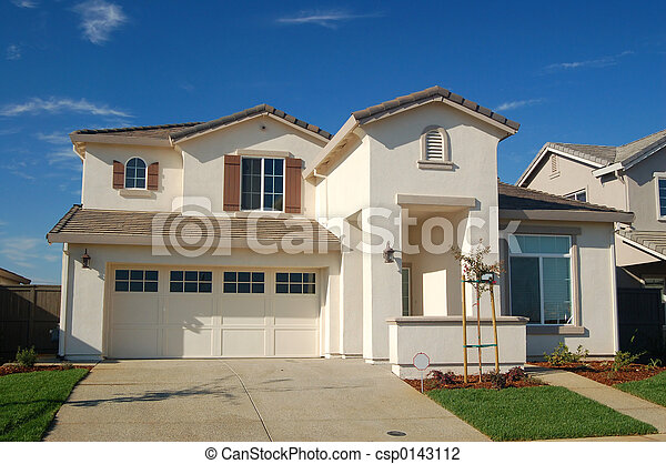 Suburban House - csp0143112