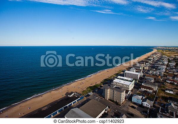 Vista aérea de los suburbios - csp11402923