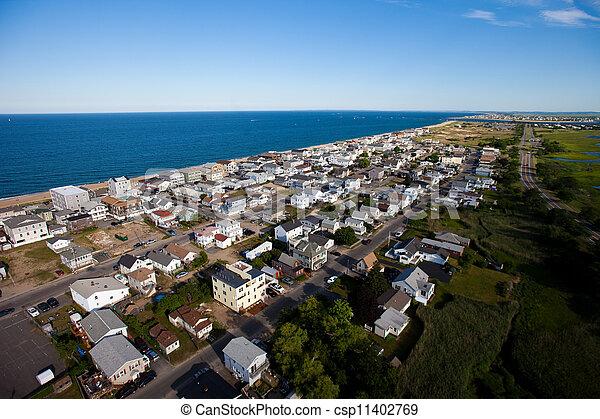 Vista aérea de los suburbios - csp11402769