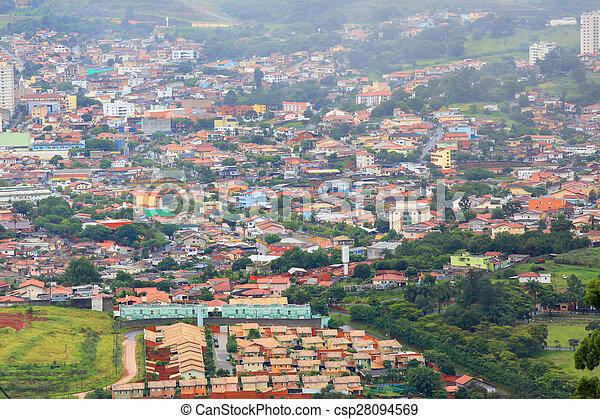 Suburbs of Hyderabad - csp28094569