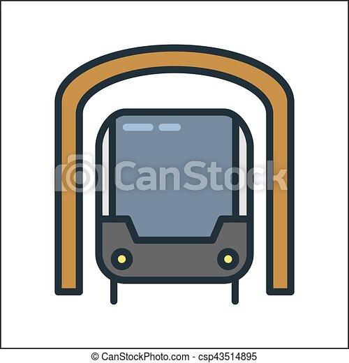 subway icon color illustration design eps vectors search clip art rh canstockphoto ie subway sandwich clipart clipart subway train
