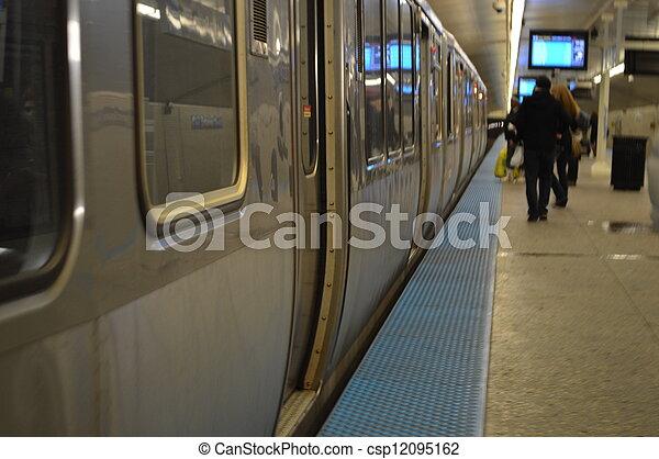Subway - csp12095162