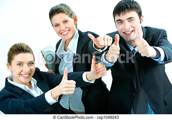 succes, zakelijk - csp1049243