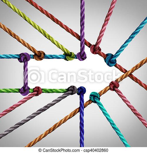 Success Arrow Connection - csp40402860