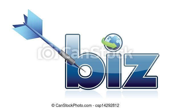 Success business target illustration - csp14292812
