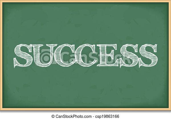 Success - csp19863166