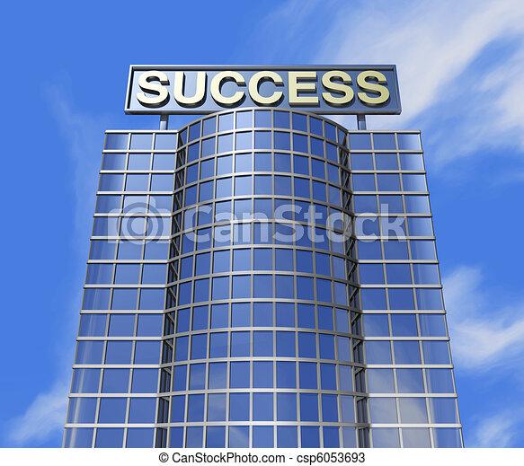 success concept - csp6053693