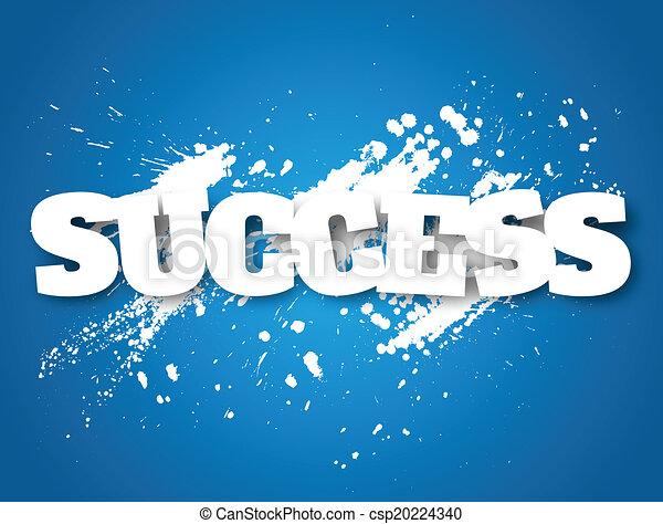 Success concept - csp20224340