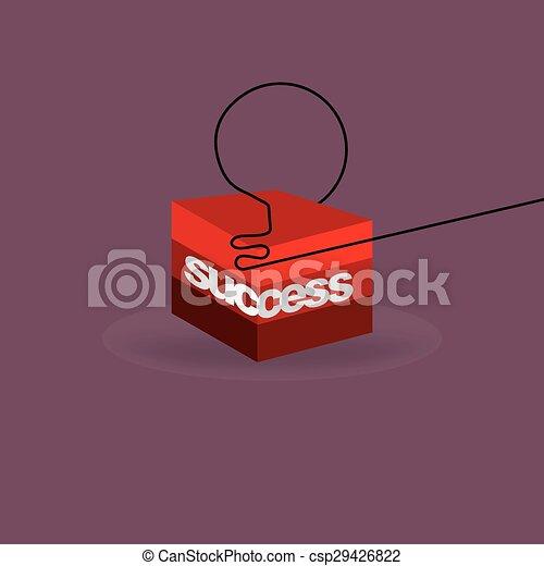success concept  - csp29426822
