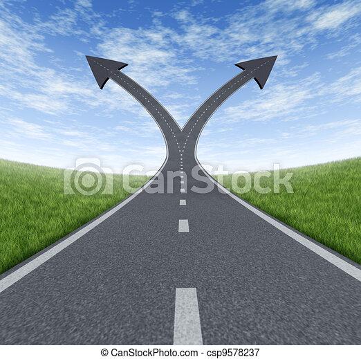 Success Decision - csp9578237