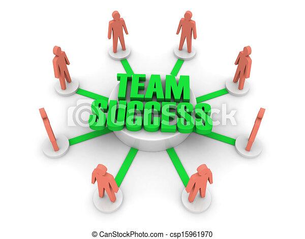 success., equipe - csp15961970