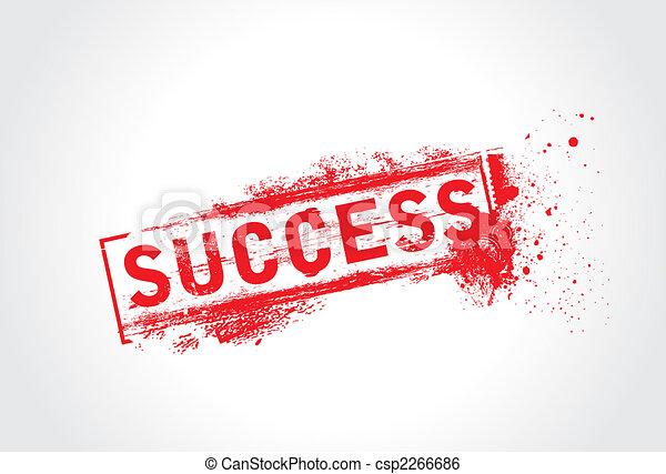 Success Grunge Text - csp2266686