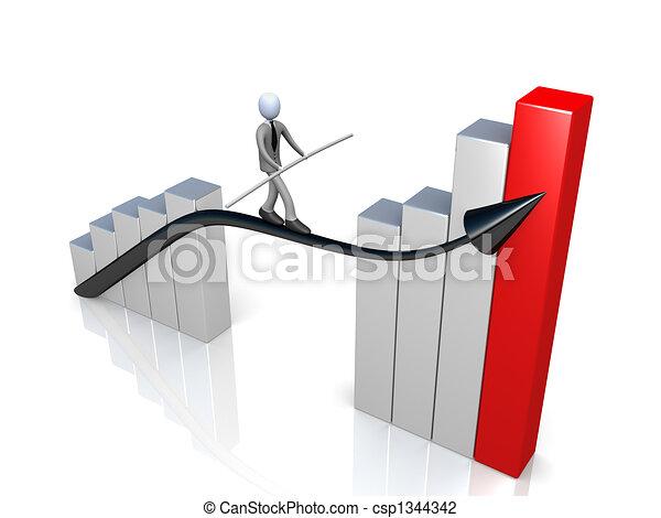 Success In Business - csp1344342