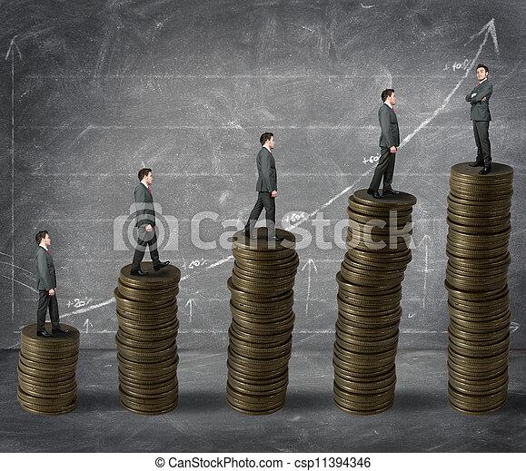 success in business - csp11394346