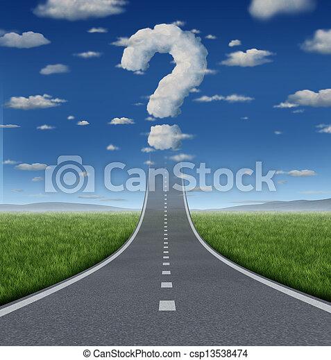 Success Questions - csp13538474
