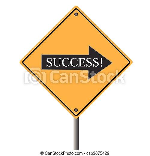 Success Sign - csp3875429