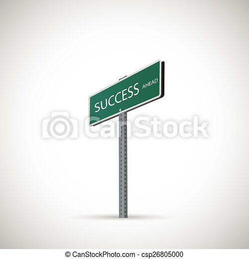 Success Sign - csp26805000