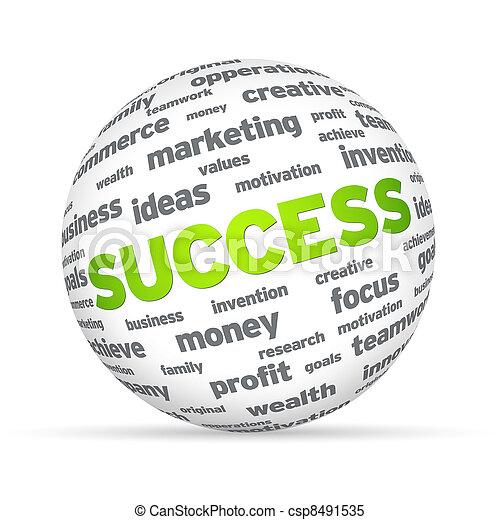 Success Sphere - csp8491535
