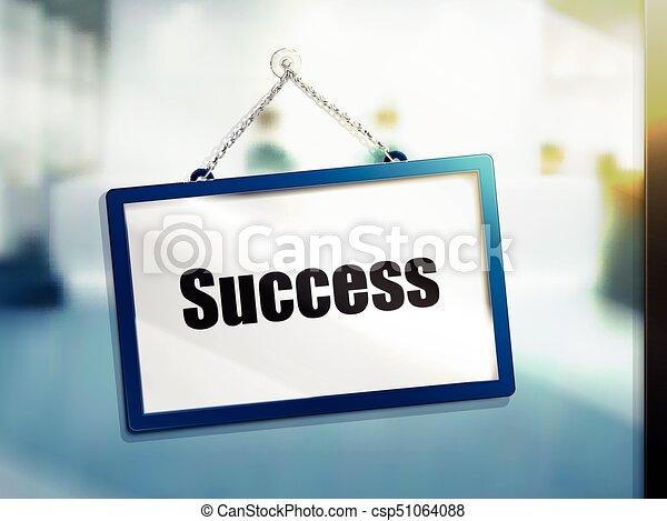 success text sign - csp51064088