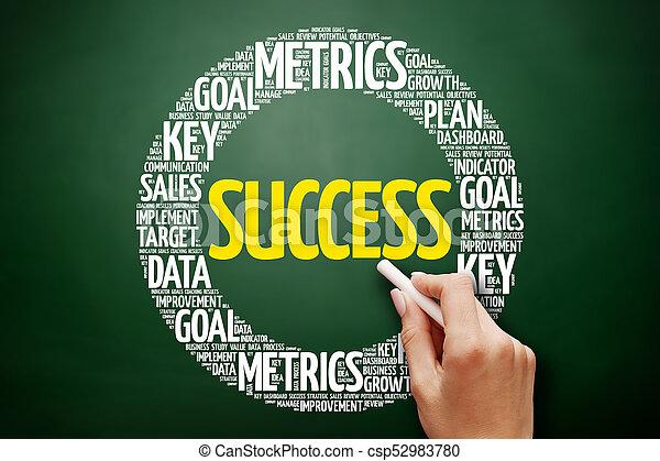 Success word cloud collage - csp52983780