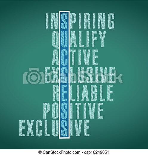 success words illustration design - csp16249051