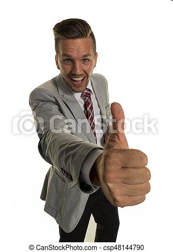 successful business man - csp48144790