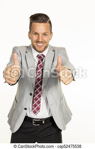 successful business man - csp52475538