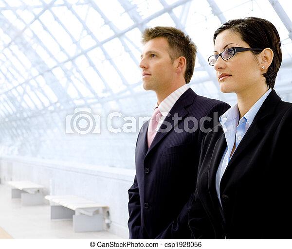 Successful business people - csp1928056