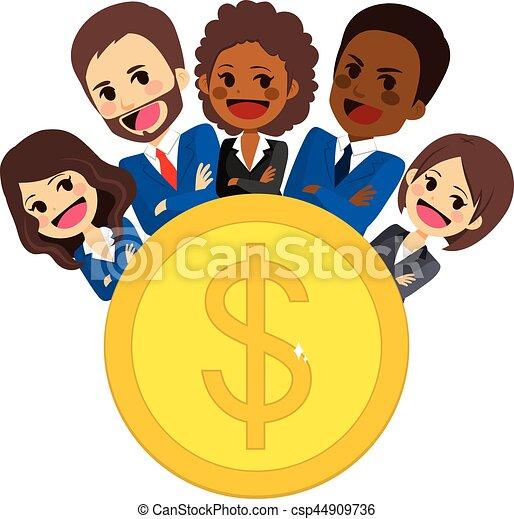 Successful Business Team - csp44909736