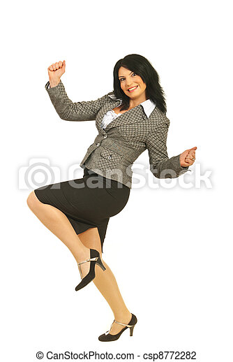 Successful business woman - csp8772282