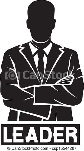 Líder (hombre de negocios exitoso) - csp15544287