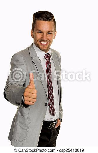 successful businessman - csp25418019