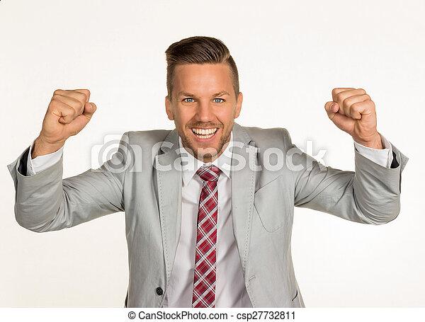 successful businessman - csp27732811