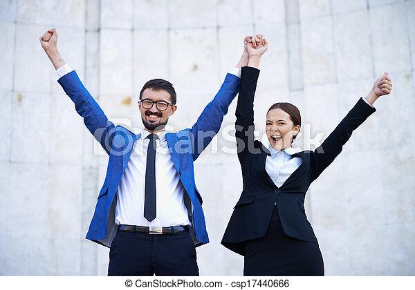 Successful businesspeople - csp17440666