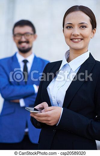 Successful employee - csp20589320