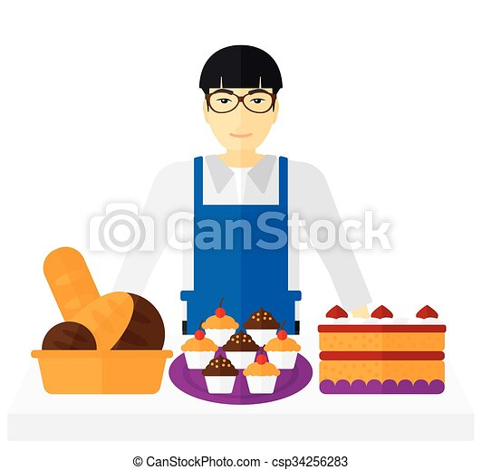 successful small business owner an asian successful small vector rh canstockphoto com free business clipart for powerpoint free business clipart photos