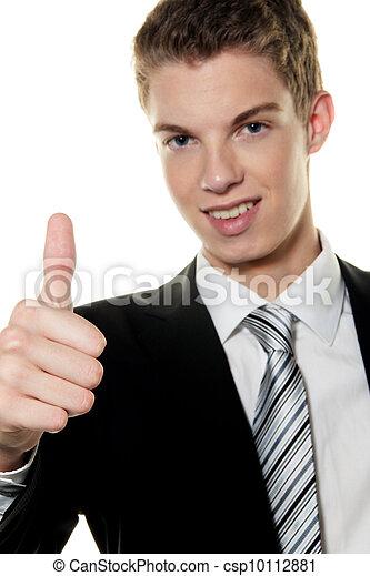 successful young man - csp10112881