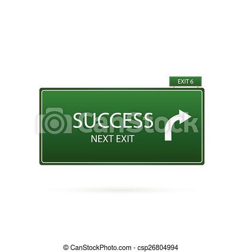 successo, segno - csp26804994
