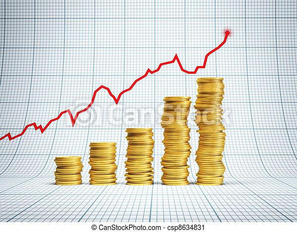 succesvolle , investering - csp8634831