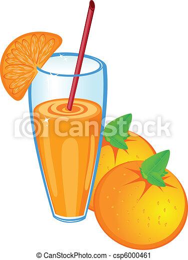 succo arancia, frutta, isolato - csp6000461