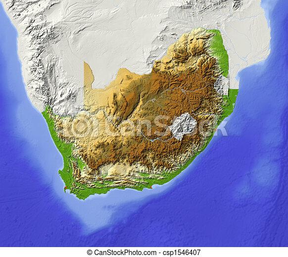 Cartina Sud Africa Da Stampare.Sudafrica Ombreggiato Mappa Sollievo Greyed Clip Stato Ombreggiato Circondare Mappa Territorio Colorato Maggiore Canstock