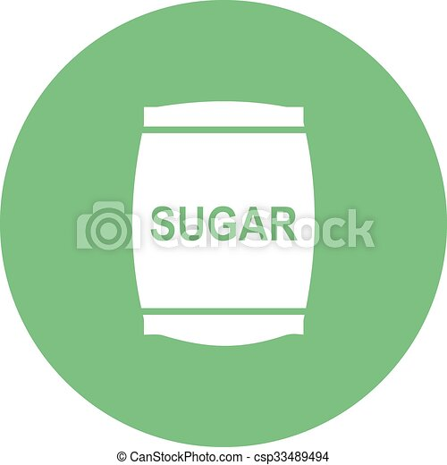Sugar bag - csp33489494