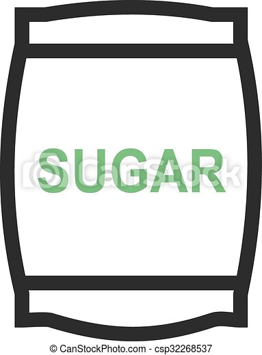Sugar bag - csp32268537