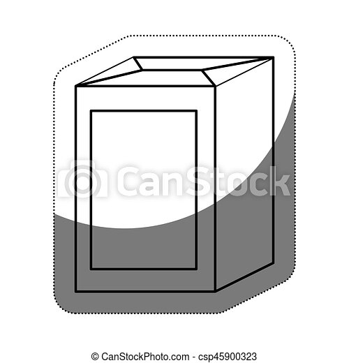 sugar bag icon - csp45900323