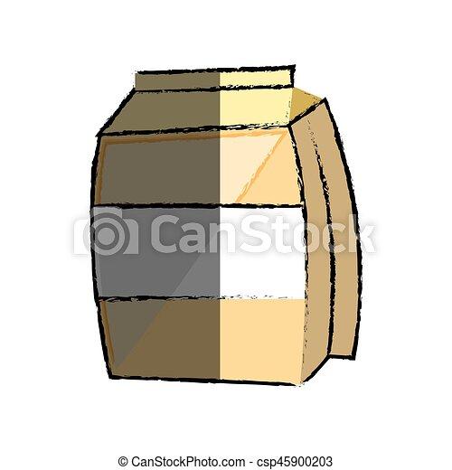 sugar bag icon - csp45900203