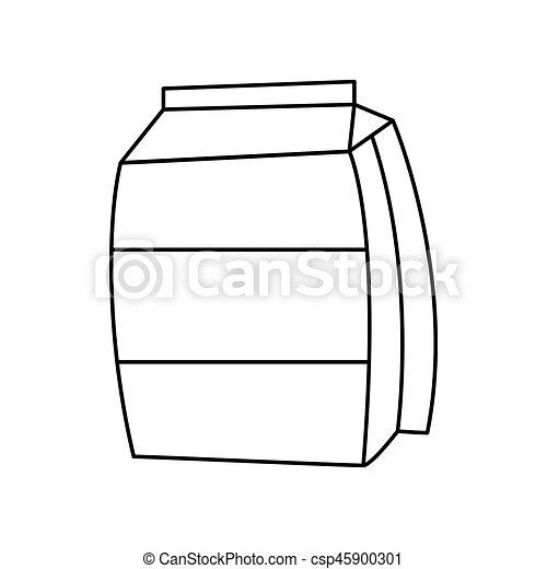 sugar bag icon - csp45900301