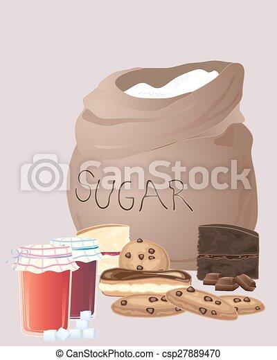 sugar bag - csp27889470