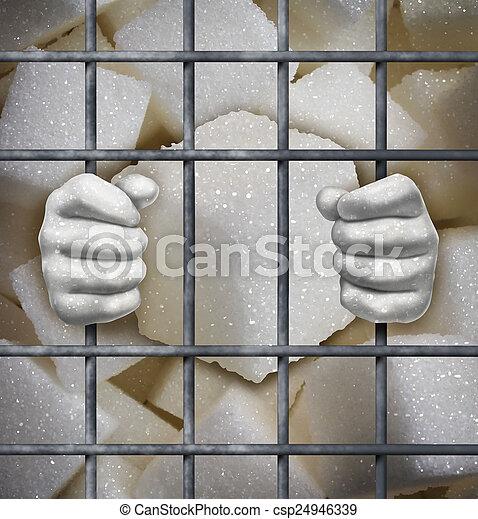 Sugar Ban - csp24946339